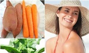 Thực phẩm giúp chống nắng tự nhiên