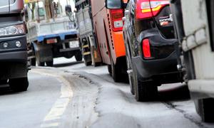 Đường 2.000 tỷ đồng bị lún sau hơn năm thông xe
