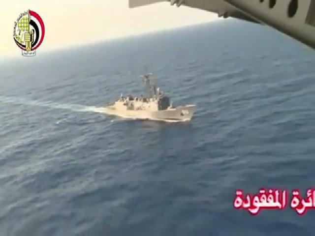 Ai Cập tìm kiếm máy bay mất tích ở Địa Trung Hải