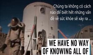 Những thách thức khi du hành tới sao Hỏa