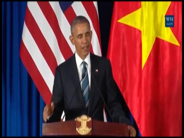 Obama nói muốn đến thăm Việt Nam khi về hưu