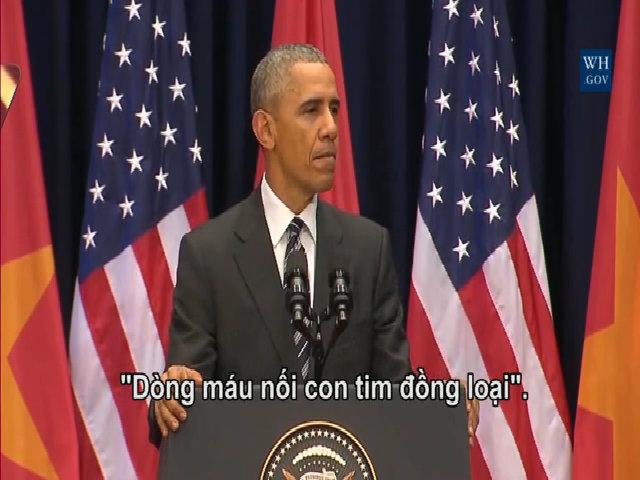 Những vần thơ, câu hát Việt được Tổng thống Obama trích dẫn