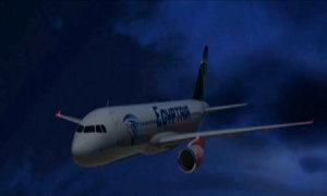 Phi công EgyptAir nói có khói trước khi máy bay rơi xuống biển