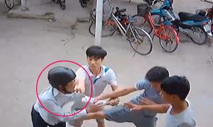 Trộm xe máy bị đánh 'thừa sống thiếu chết'