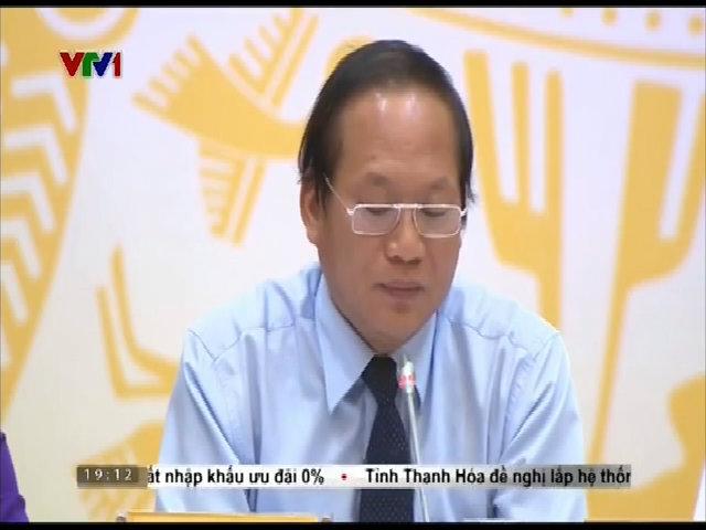 Bộ trưởng Trương Minh Tuấn: 'Cần bằng chứng pháp lý về thủ phạm gây cá chết'