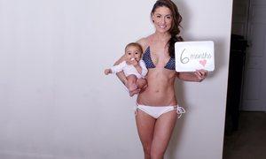 6 bài tập giảm cân cho mẹ khi trông bé