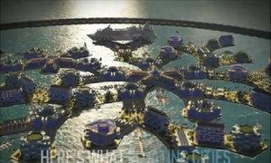 Thành phố nổi có thể thay đổi hình dạng và di chuyển