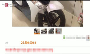 Chiêu lừa bán xe SH giá rẻ ở Sài Gòn