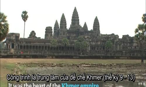 Laser trên không hé lộ thành phố cổ trong rừng già Campuchia