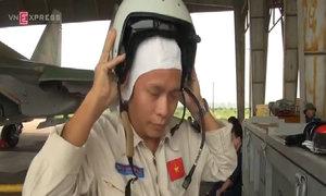 Máy bay Su-30MK2 luyện tập chiến đấu tại Việt Nam