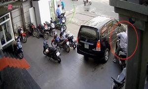 Những bảo vệ bị trộm giăng bẫy lấy mất Honda SH