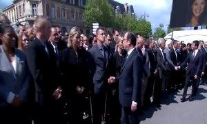 Tổng thống Pháp bị cảnh sát từ chối bắt tay