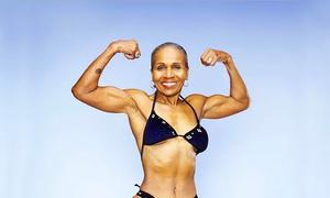 Bà hoàng phòng gym ở độ tuổi 80