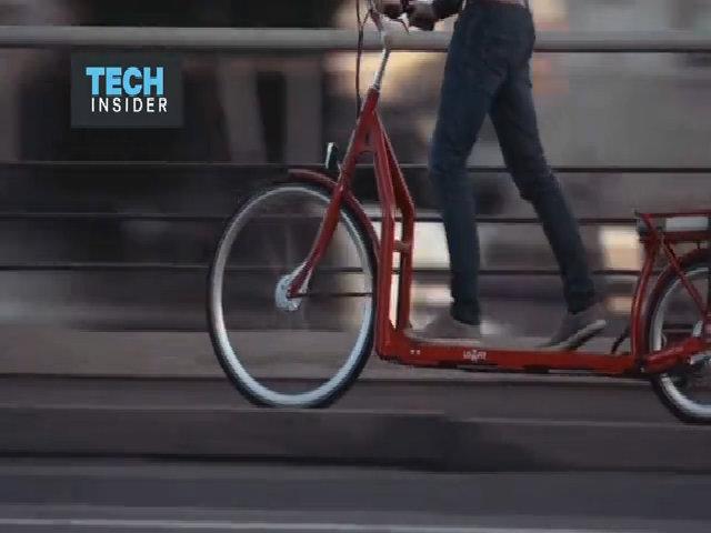 Đạp xe như đi bộ máy