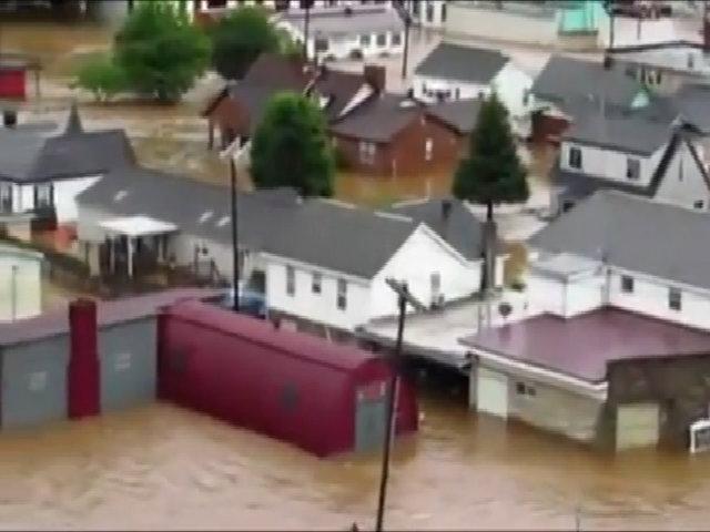 Lũ lụt tàn phá các khu vực thuộc tiểu bang West Virginia