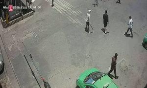 Nhân viên bến xe chạy tán loạn vì côn đồ truy sát