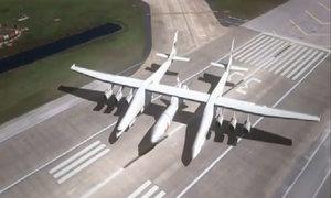 Máy bay lớn nhất sải cánh dài hơn sân bóng đá sắp ra mắt