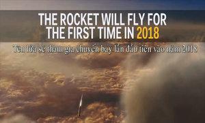 NASA thử thành công tên lửa đẩy mạnh nhất thế giới