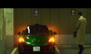 Luật sư Nhật lái siêu xe  McLaren P1 đi làm hàng ngày