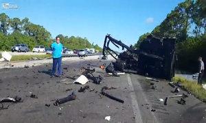 Hiện trường vụ tai nạn khó tin