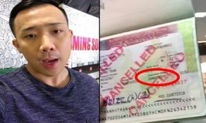 Lý do 'chính thức và duy nhất' khiến Trấn Thành bị từ chối nhập cảnh Mỹ