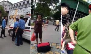 Bảo vệ chặn xe cấp cứu: 'Nếu sai mai ba thằng mình nghỉ việc'