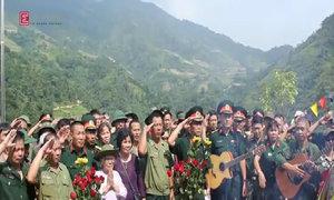 Tiếng hát gọi đồng đội nơi biên giới