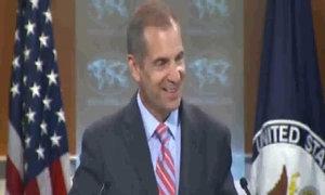 Người phát ngôn Bộ Ngoại giao Mỹ bật cười khi được hỏi về tân ngoại trưởng Anh