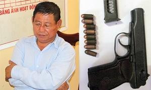 Hơn 100 cảnh sát vây bắt trung tá Campuchia bắn chết chủ tiệm vàng