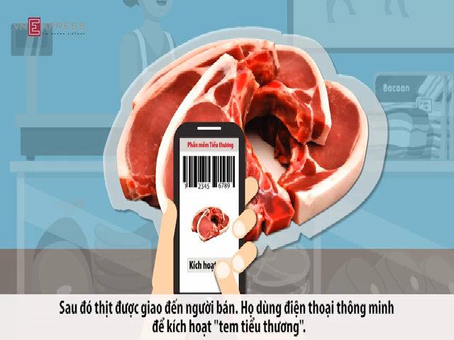 Quy trình kiểm tra thịt heo sạch bằng smartphone