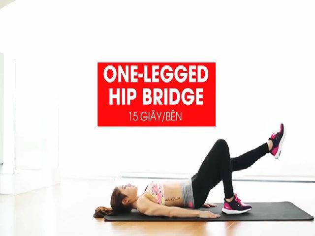 Bài tập giúp vòng eo thon gọn cho các nàng lười đến phòng gym