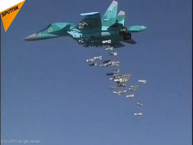 Su-34 Nga xuất kích từ Iran, diệt hơn 150 chiến binh IS