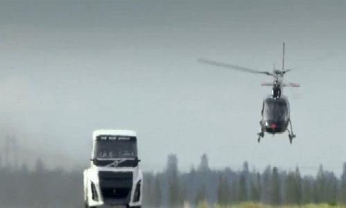 Volvo Iron Knight - xe tải nhanh nhất thế giới