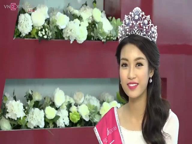 Phỏng vấn trực tuyến Hoa hậu Việt Nam 2016 - Đỗ Mỹ Linh