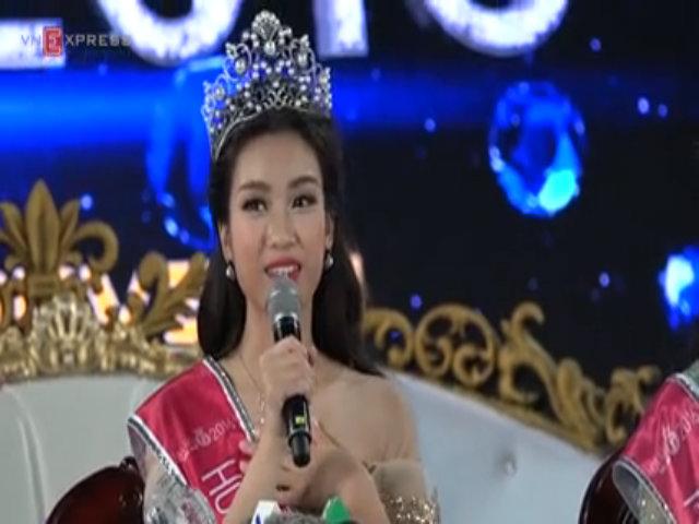 Tân Hoa hậu Việt Nam 2016 chia sẻ sau khi đăng quang