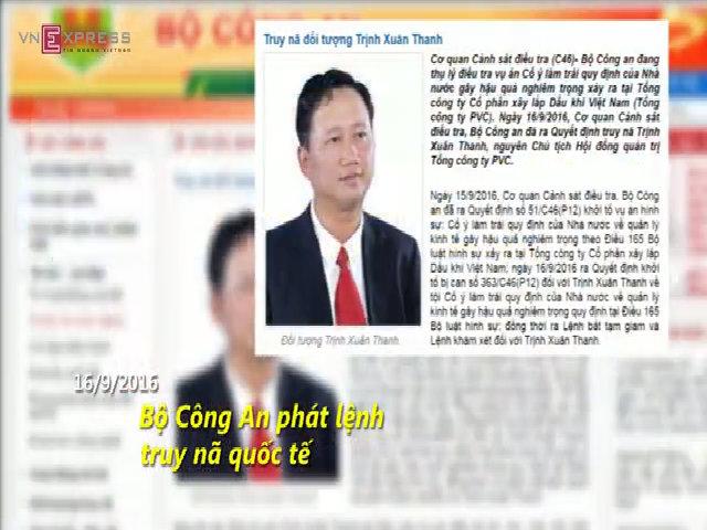 Các cựu quan chức Việt Nam bị truy nã quốc tế