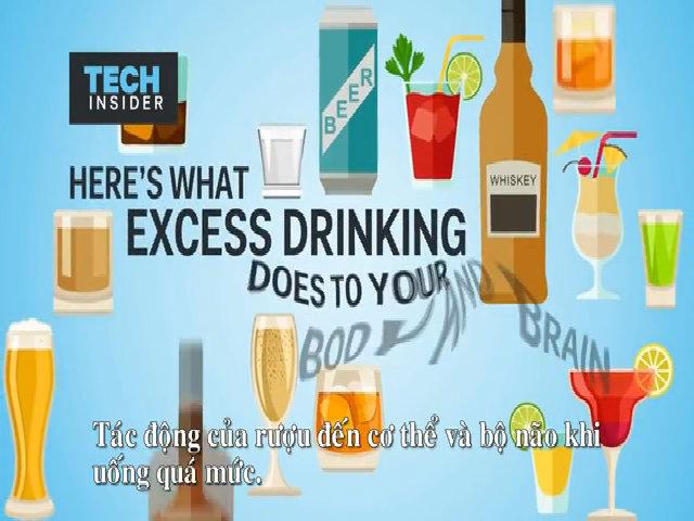 Ảnh hưởng của rượu đến não bộ và cơ thể
