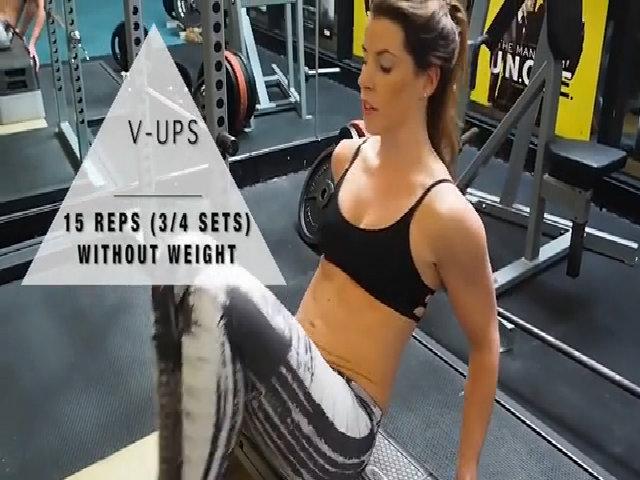 Các bài tập cơ bụng 6 múi hiệu quả