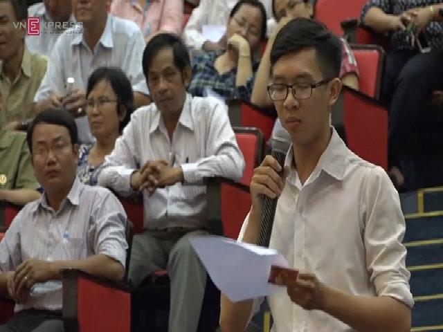 Thầy giáo bị thử việc không lương: 'Mong bác Đinh La Thăng giúp con' (NEW)