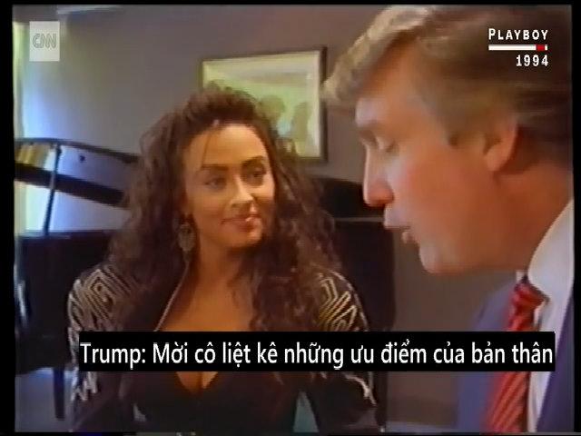 Trump phỏng vấn người mẫu Playboy