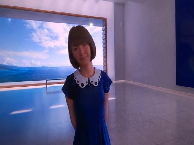 Nữ sinh kỹ thuật số xinh đẹp ở Nhật Bản