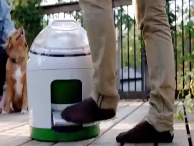 Máy giặt 'chạy bằng cơm'