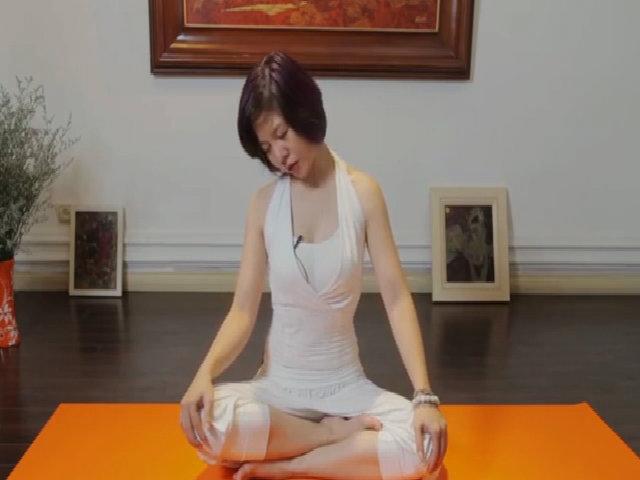 Yoga chữa bệnh mất ngủ, đau đầu