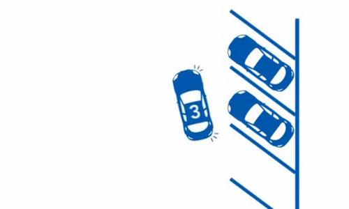 Đỗ xe dọc góc chéo