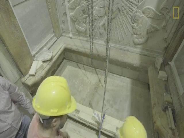 Phát hiện bất ngờ bên trong mộ Chúa Jesus