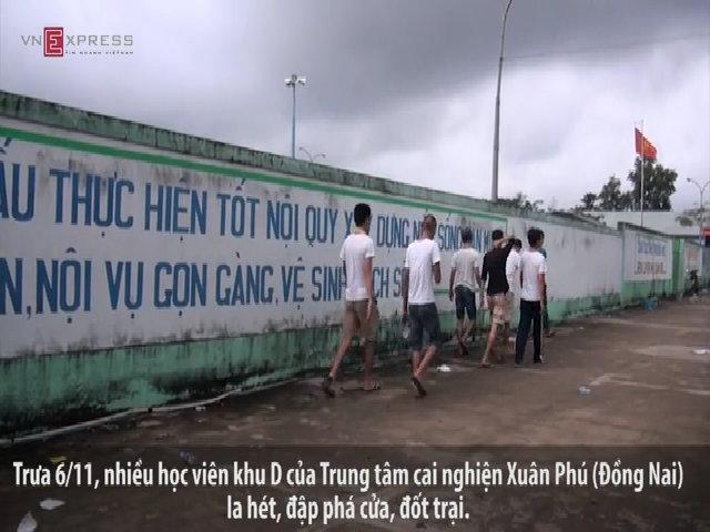 Hơn 100 học viên trốn trại cai nghiện