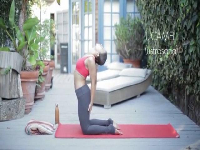 3 động tác yoga hỗ trợ tiêu hóa, giảm mỡ bụng