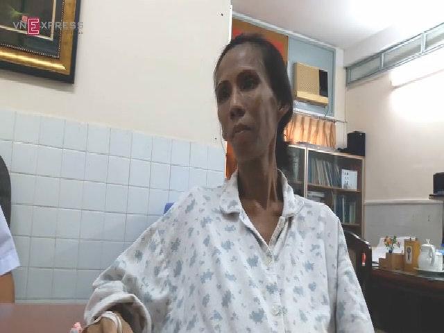 Người phụ nữ mồ côi mang khối u khổng lồ chờ chết