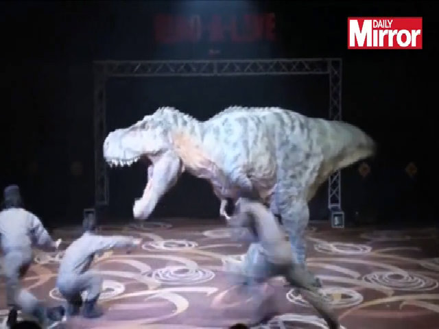 Công ty Nhật chế tạo robot khủng long bao chúa hệt như thật