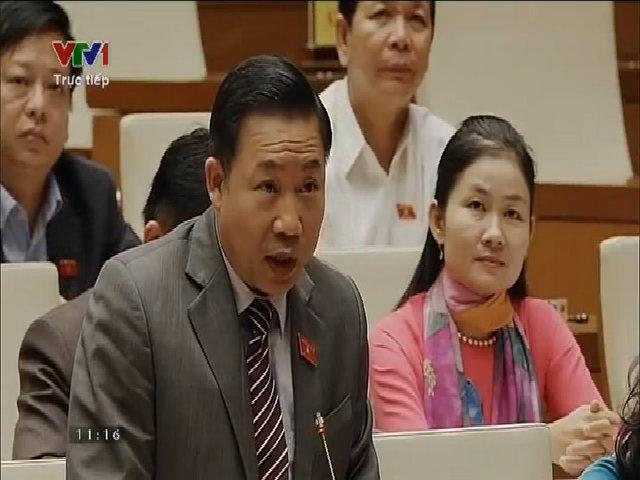 Đại biểu quốc hội Trương Bình Nhưỡng